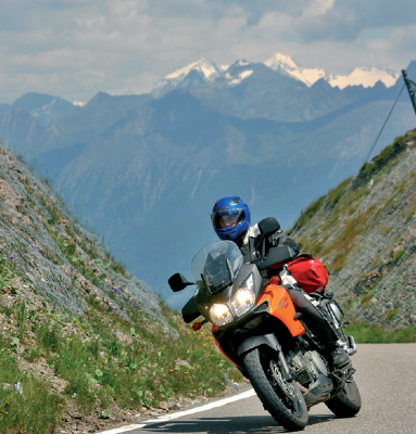 Alpenpass Jaufenpaß (Passo di Monte Giovo)