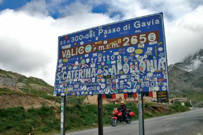 Alpenpass Gavia, Passo di