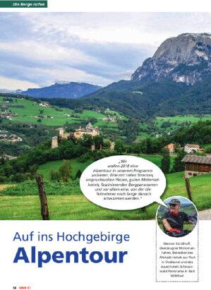 Die Berge rufen - Alpentour