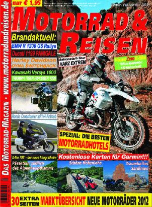 2012/01 Ausgabe M&R inkl. Tourdaten