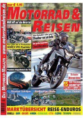 2012/02 Ausgabe M&R inkl. Tourdaten