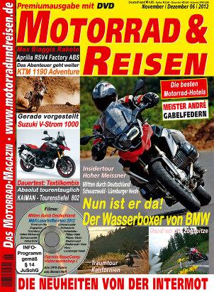 2012/06 Ausgabe M&R inkl. Tourdaten