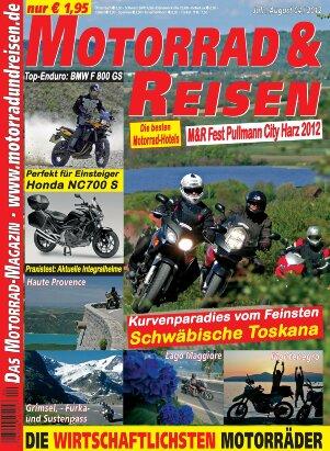 2012/04 Ausgabe M&R inklusive Tourdaten