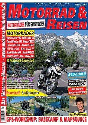 2013/03 Ausgabe M&R inkl. Tourdaten