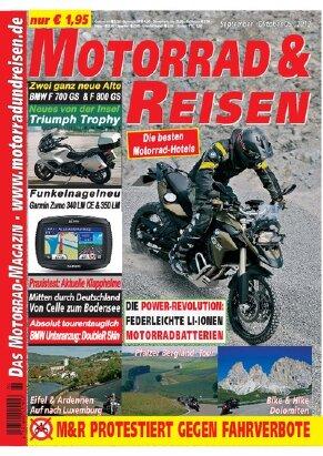 2012/05 Ausgabe M&R inkl. Tourdaten