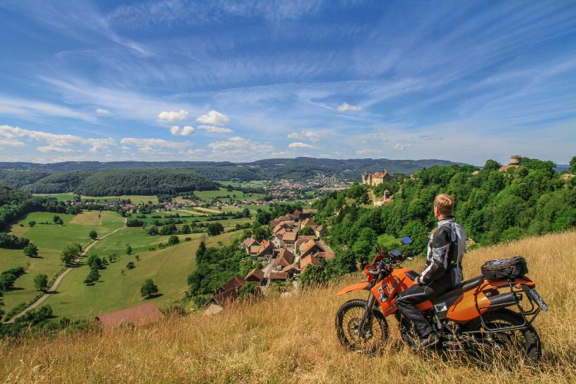 Franche-Comté - eine Landschaft zum genießen.