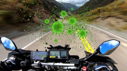 Der Corona-Fahrplan für Motorradfahrer im Ticker
