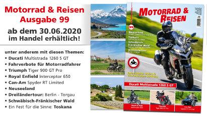 Vorschau: Motorrad & Reisen Ausgabe 99