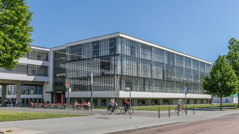 Motorradtour Dessau, Das Bauhaus