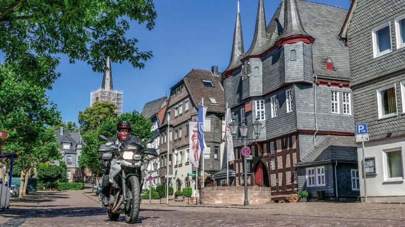 Motorradtour Frankenberg Hessen