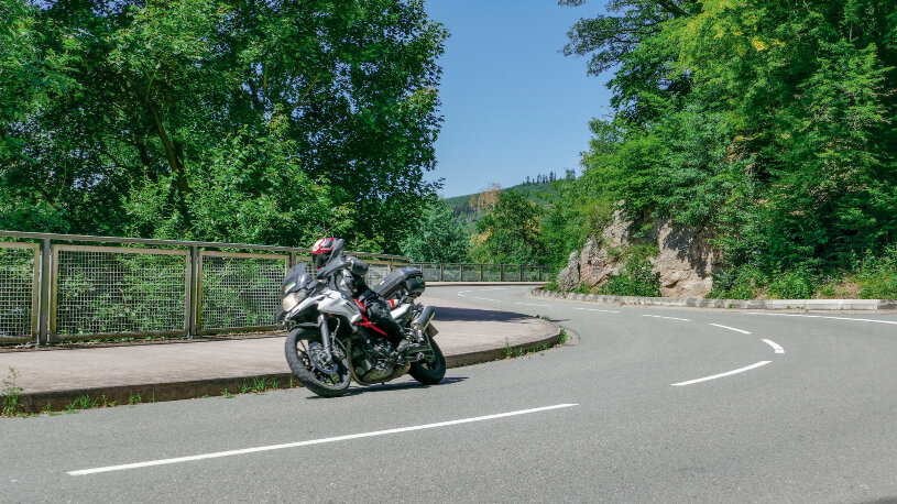 Motorradtour Diemelsee, Hessen