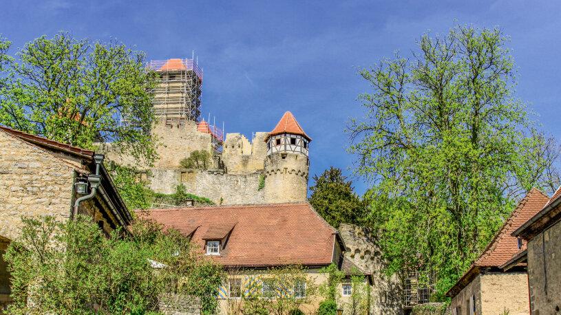 Motorradreise Deutschland, Burg Hornberg
