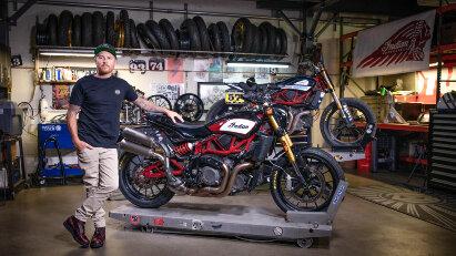 Indian Motorcycle & Roland Sands Design präsentieren neues Zubehör für die FTR 1200