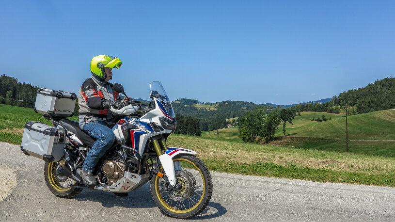 Motorradtour Niederösterreich, Mühlviertel