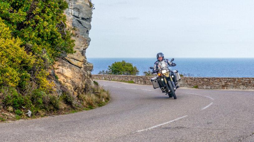 Motorradreise Korsika