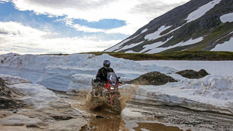 Motorradreise Nordkap Honda Adventure Roads