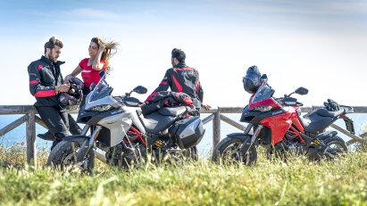 Sicheres und komfortables Reisen mit dem Ducati Total Touring Look