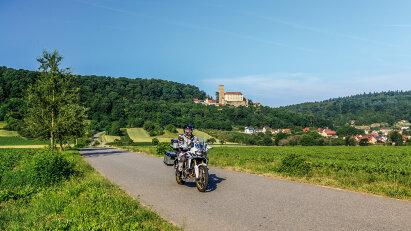 Burgenstraße - von Heidelberg nach Rothenburg ob der Tauber