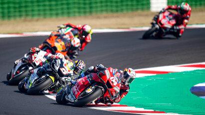Die MotoGP startet vom 18. - 20. September erneut in Misano