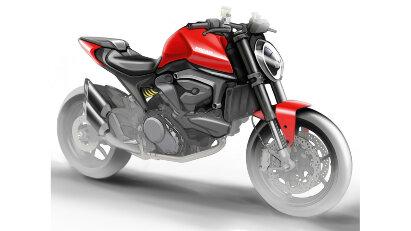 Ducati Neuheiten: DesertX, Motard und eine neue Monster ohne Gitterrohrrahmen