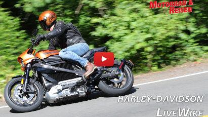 Video: Erste Fahreindrücke mit Harley-Davidsons LiveWire