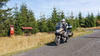 Motorrad-Reisereportage: Über und unter dem Erzgebirge