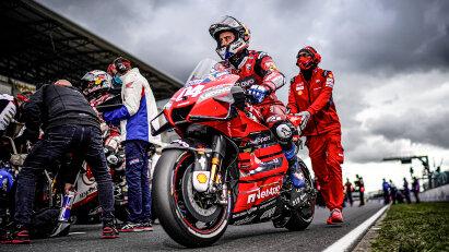 Der MotoGP-Zeitplan vom 23.-25.10. für das zweite Rennwochenende in Aragon