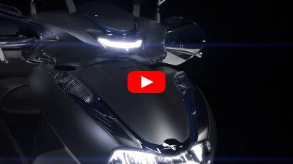 Honda kündigt mit dem SH350i einen neuen Roller an