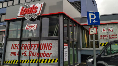 Neu in Frankfurt: Louis eröffnet Riesenfiliale