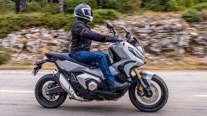 Update für Honda X-ADV - halb Scooter halb Motorrad