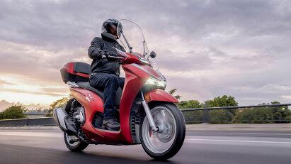 Honda SH350i - Souveräner Bestseller