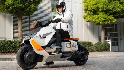 BMW Motorrad Definition CE 04 - Futuristischer Scooter geht in Serie