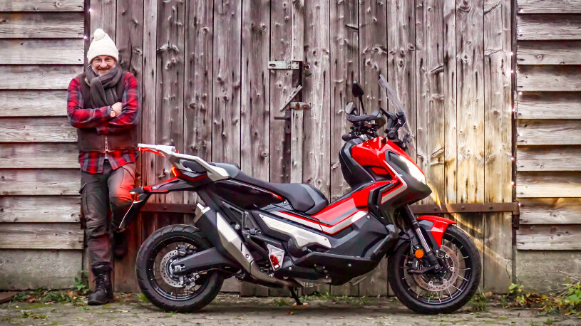 Honda X-ADV Winterdauertest