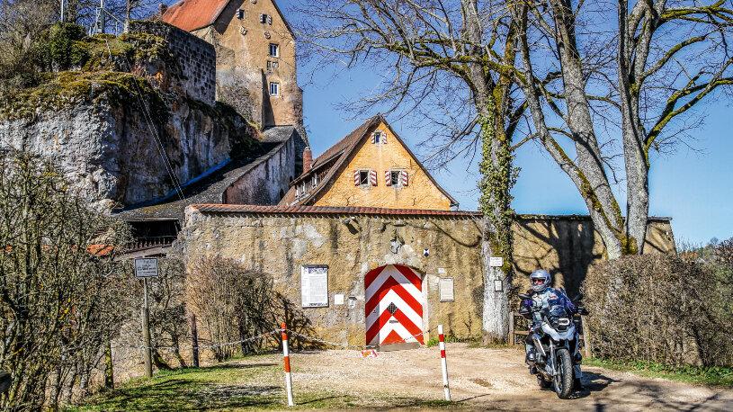Motorradtour: Fränkische Schweiz - Burg Pottenstein