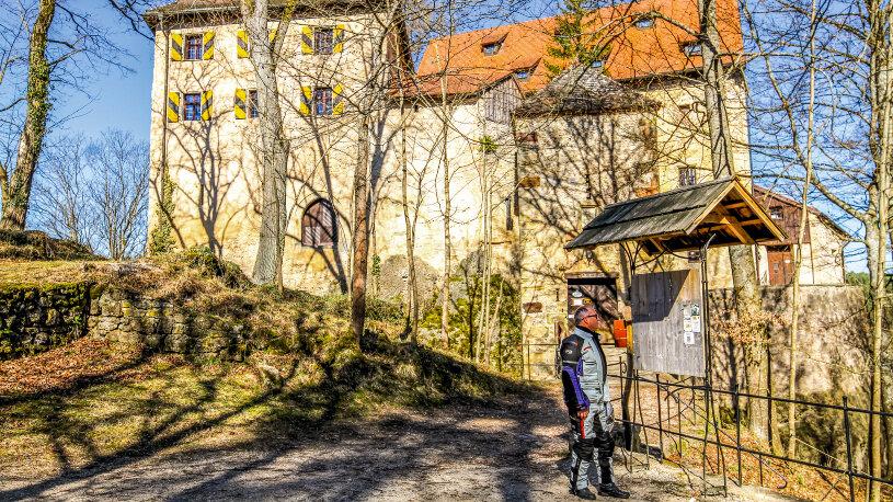 Motorradtour: Fränkische Schweiz - Burg Rabeneck