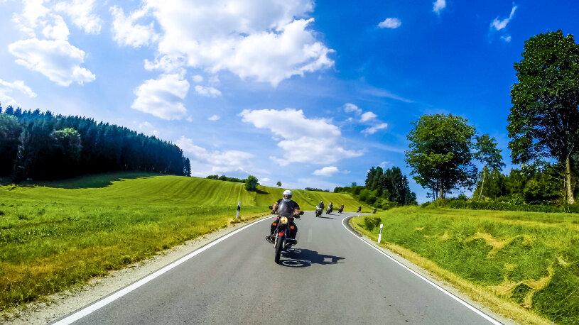 Motorradtour Bayerischer Wald Warm-Up im Vorderen Bayerwald