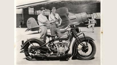 Im Jahr 1921 stellte Indian Motorcycle die legendäre Indian Chief vor.