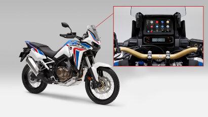 Android Auto für Africa Twin und weitere Honda-Motorräder verfügbar