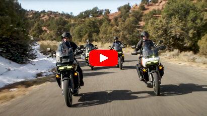 Harley-Davidson Pan America: Neues Video zeigt weitere Details