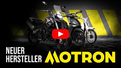 Motron: Neuer Hersteller von Motorrädern und Rollern mit gutem Preis-Leistungs-Verhältnis