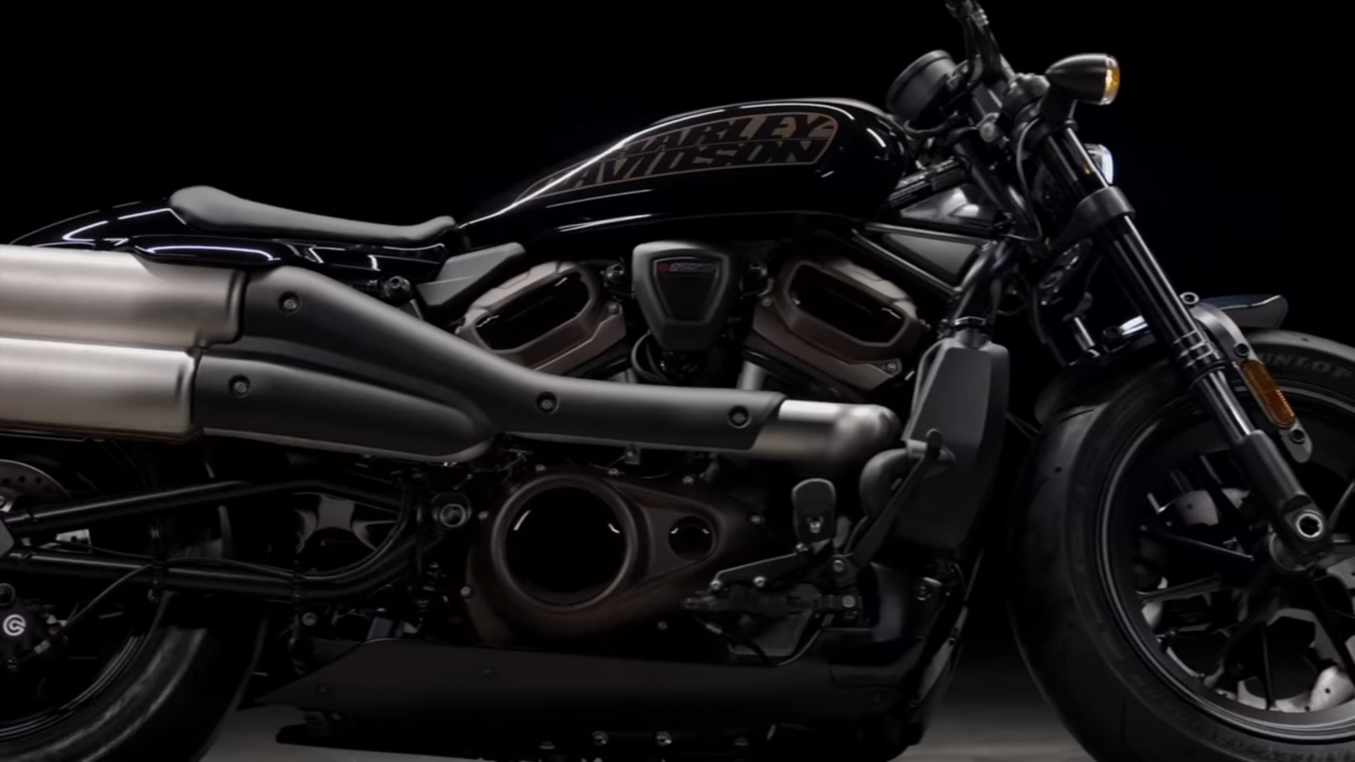 Harley-Davidson High-Performance-Custom-Modell