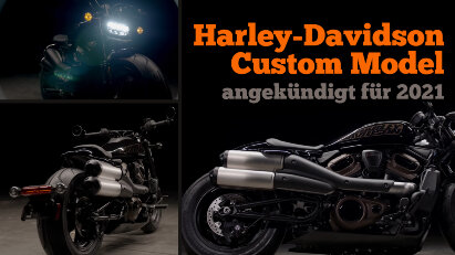 Harley-Davidson Custom Model kommt bereits 2021