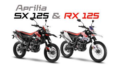 Aprilia RX 125 und SX 125 mit neuem Motor und Euro 5