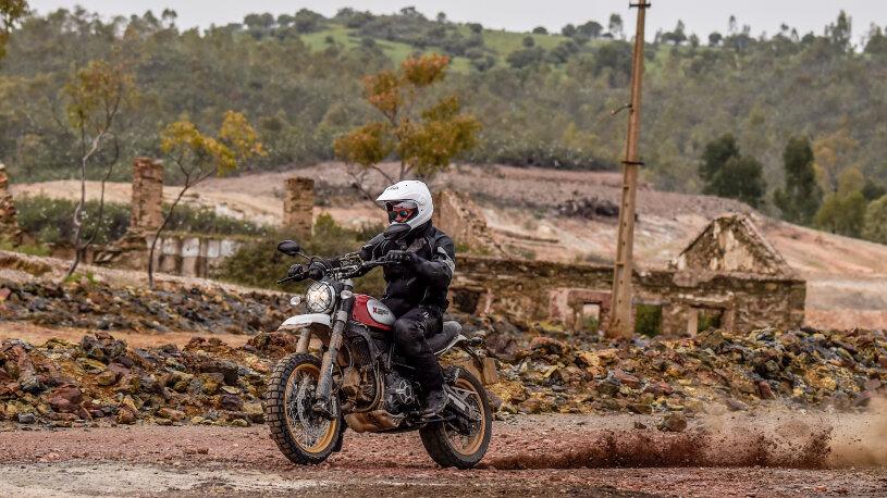 Höhepunkt am 5. Fahrtag: die seit über 50 Jahren stillgelegte Mine von São Domingo