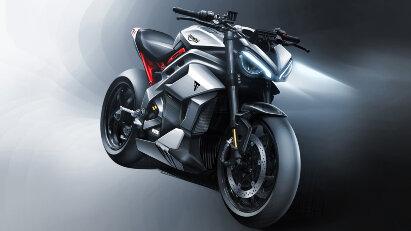 Die TE-1 soll Triumphs erstes Elektromotorrad werden.