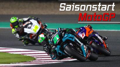 MotoGPSaisonauftakt in Katarvom 26. bis 28.03.2021