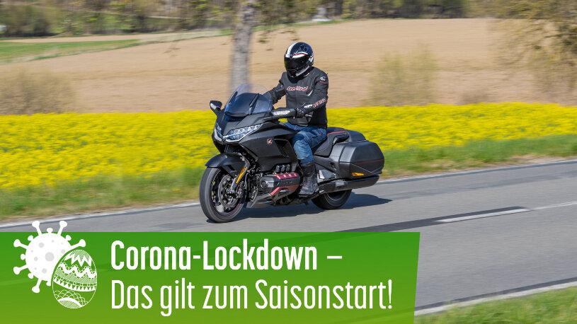 Motorradfahren während des Lockdowns