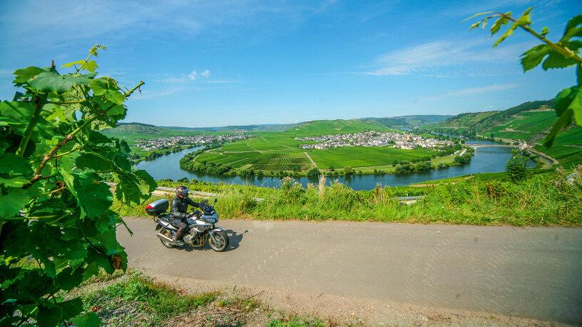 Motorradtour durch Mosel und Hunsrück