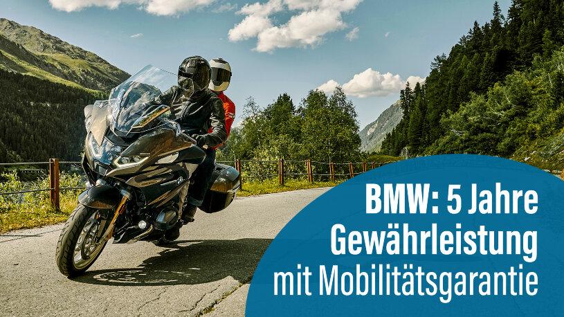 BMW Motorrad fünf Jahre Garantie
