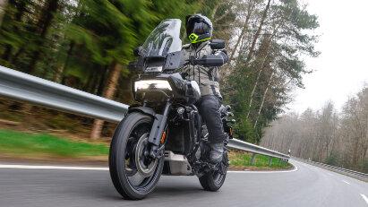 Wir testen die neue Pan America Special von Harley-Davidson.